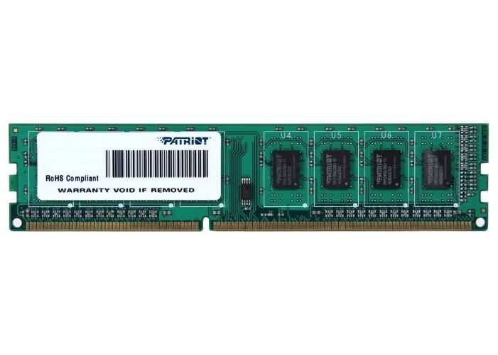 Модуль памяти DIMM DDR3 Patriot 4Гб (PSD34G1600L81) PC12800